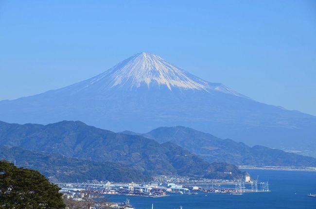 """風も吹いていて寒いけれど、富士山が綺麗に見えました。<br />そこで車で富士山を撮りに出かけました。<br />第一弾は、""""日本平""""です。<br /><br />★日本平観光組合のHPです。<br />http://www.nihondairakankou.com/"""