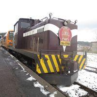 津軽鉄道のストーブ列車に乗るプチ鉄道の旅