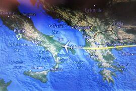 2013秋、イタリア旅行記2(3)ドバイからローマのフィウミチーヨ国際空港へ、陸路ナポリへ