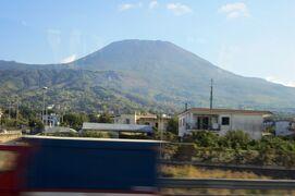 2013秋、イタリア旅行記2(5)ナポリから陸路・ポンペイへ、ヴェスヴィオ山