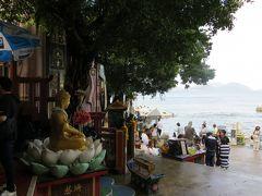2013夏、中国旅行記23(2):7月20日(1):香港、朝食のレストラン、レパルス・ベイ、天后廟