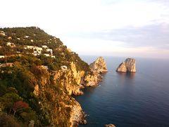 アラフィフ夫婦の初イタリア<4> アマルフィからカプリ・青の洞窟へ