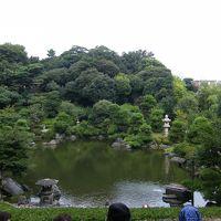 東京の庭園、小堀遠州作庭の池上本門寺松涛園