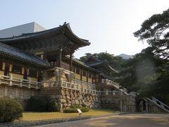2013春、韓国旅行記26(4):4月9日(2):慶州、仏国寺、天王門・四天王像、青雲橋、白雲橋橋