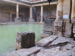 2013晩秋、イギリス旅行記2(15):12月1日(3):バース、ローマン・バース博物館、遺品展示