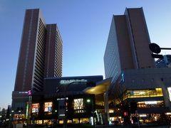 【宿泊レポ☆2】夜景が綺麗な格安高層ビジネスホテルのアワーズイン阪急大井町