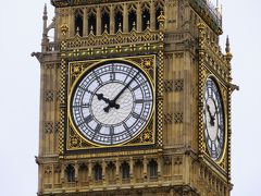 2013晩秋、イギリス旅行記2(23):12月2日(4):ロンドン、国会議事堂(ウェストミンスター宮殿)、ビング・ベン
