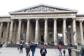 2013晩秋、イギリス旅行記2(24):12月2日(5):ロンドン、車窓見学しながら大英博物館へ、1回目の大英博物館