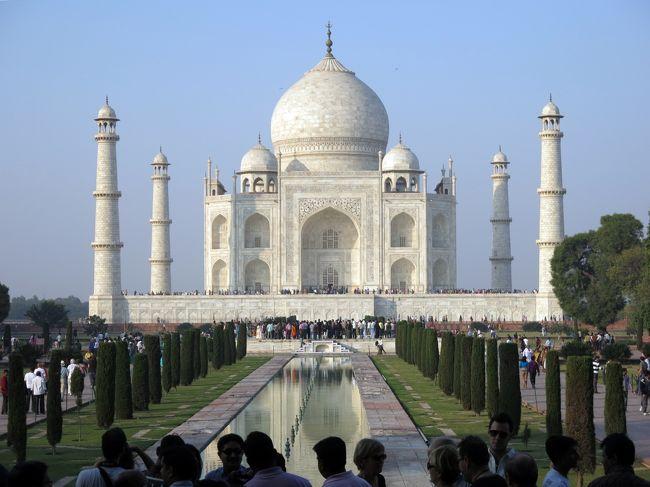 インドの旅(2)タージ・マハルを訪ねる