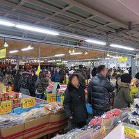 茨城県ひたちなか市那珂湊に正月用の買いだし