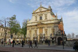 2013秋、ポーランド旅行記(9):10月21日(7):クラクフ、ヴァヴェル城、クラクフ旧市街、聖ペトロ聖パウロ教会