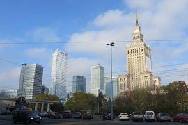 2013秋、ポーランド旅行記(19):10月23日(1):ワルシャワ、新市街、文化芸術宮殿