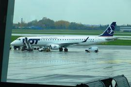 2013秋、ポーランド旅行記(23):10月24日:帰国、ワルシャワ国際空港からヘルシンキ国際空港へ