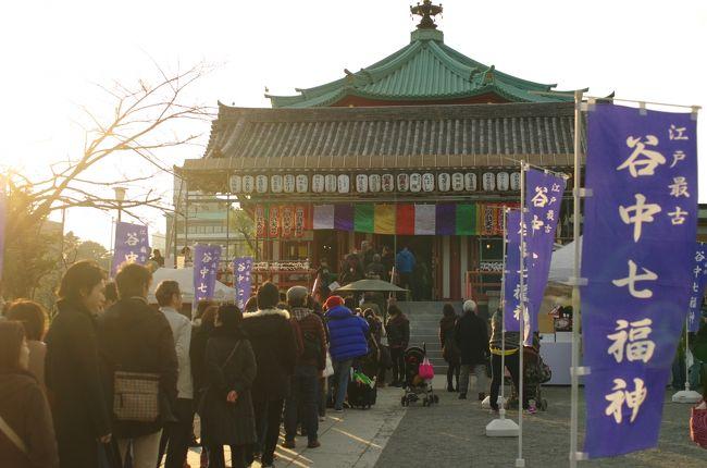 2014年元日、江戸最古の七福神と言われる谷中七福神を巡って来ました。