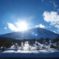 硫黄泉を求めて 万座温泉02 豊国館〜万座温泉スキー場〜浅間山