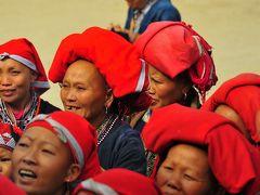 SaPa 少数民族の村々 9ターフィン村 赤帽部隊の攻勢にみまわれる赤ザオ族の村