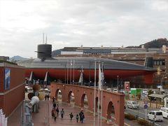 広島 第二弾 呉 陸に上がった潜水艦はデカかった。