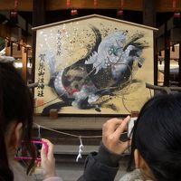 下鴨神社へ初詣(2014.1.2)