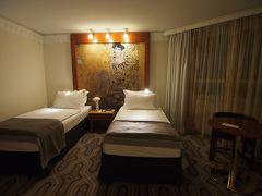ウィーン&ザルツブルク 2013/14年末年始 ホテル アム コンツェルトハウス (Hotel am Konzerthaus)  スーペリアツインルーム (★★★★)