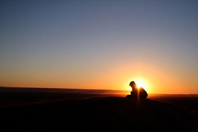 サハラ砂漠をぶらぶら