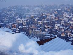 トルコ旅行<4 / サフランボル・雪化粧の世界遺産の町-二日目、朝