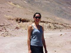 ハンバーストーン(チリ・アタカマ砂漠):ゴーストタウン化した硝石精製工場跡と労働者の街