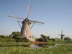 201007-05-オランダ・ベルギー・フランス3か国周遊の旅(キンデルダイクの風車群)Windmills in Kinderdijk / Netherlands
