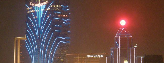 2014年新年の澳門と香港