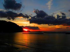 夕陽の町 松崎