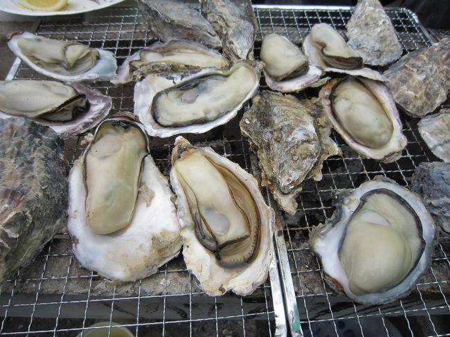 昨年より年1回の恒例行事に決定した日生での牡蠣バーベキュー。<br /><br />お腹いっぱい牡蠣を食べることができて大満足♪<br />来年も多分行きます(笑)