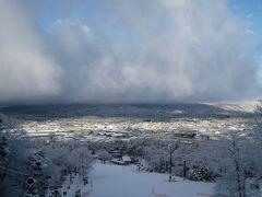 優雅なスキーバカンス 冬の美しい軽井沢♪ Vol2(第2日目) ☆雪景色の美しい軽井沢♪スキーをたっぷりと楽しむ♪