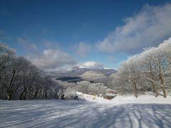 優雅なスキーバカンス 冬の美しい軽井沢♪ Vol3(第3日目) ☆樹氷の美しい軽井沢♪ディナーはルボンヴィヴォン♪