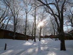 優雅なスキーバカンス 冬の美しい軽井沢♪ Vol5(第5日目) ☆軽井沢から東京へ帰る♪