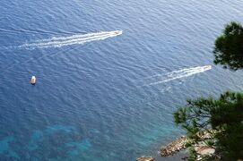 2013秋、イタリア旅行記2(18)カプリ島、アナカプリ地区へ、丘の上からの光景