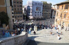 2013秋、イタリア旅行記2(23)ローマ、スペイン広場