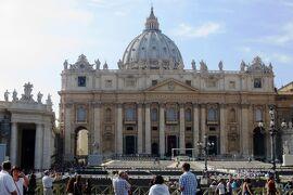 2013秋、イタリア旅行記2(26)ヴァチカン、サン・ピエトロ大聖堂、フィレンチェへ