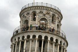 2013秋、イタリア旅行記2(31)ピサ、ピサの斜塔、露店街