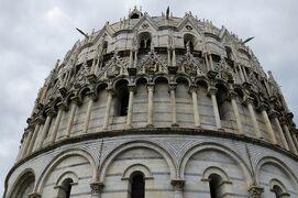 2013秋、イタリア旅行記2(33)ピサ、ピサの斜塔、洗礼堂、納骨堂