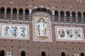 2013秋、イタリア旅行記2(34)ミラノ、スフォルツェスコ城