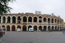 2013秋、イタリア旅行記2(40)ヴェローナ、ローマ円形劇場、ヴェネチア近郊で泊ったホテル