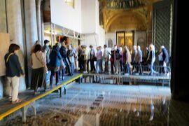 2013秋、イタリア旅行記2(46)ヴェネチア、入場してのサンマルコ寺院見学、ヴェネチア空港へ
