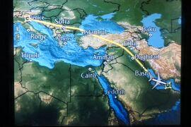 2013秋、イタリア旅行記2(47:本文完)帰国、ヴェネチア空港からドバイ空港経由で関西国際空港