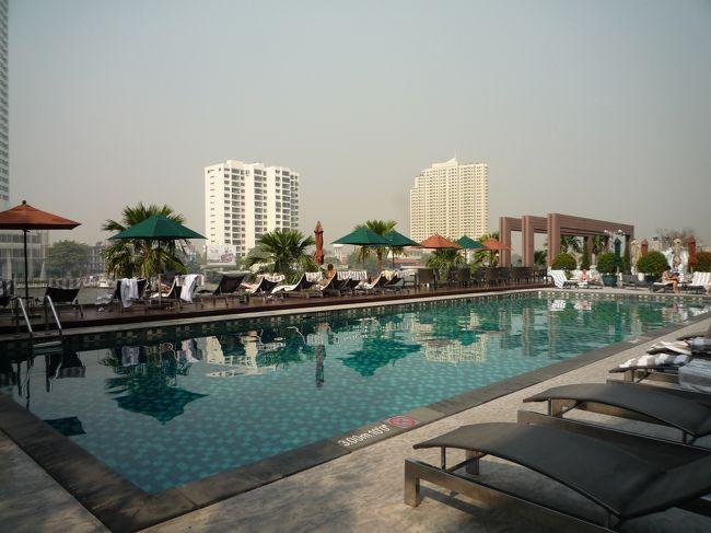 バンコクで過ごすお正月☆ ~ ③ホ~テルはリバ~サイド♪