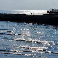 湘南海岸Walk-2 辻堂海浜公園⇒鵠沼・片瀬⇒江ノ島大橋 ☆相模湾に陽光