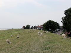 ツール・ド・エウロパ 2013 オランダ編 9 大堤防を渡って、マッカム&ヒンデローペン (アイセル湖・東岸の町)へ