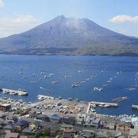 桜島の観光スポットを巡って  ※鹿児島県鹿児島市