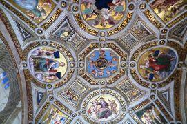 2013秋、イタリア旅行記2(50:補遺2):サン・ピエトロ大聖堂 (1/2):天井画、壁画、ラファエロとその工房