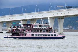 2013夏、中国旅行記23(14):7月21日(4):マカオの世界遺産巡り、アルヴァレス像、マカオタワー、西湾大橋