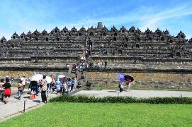 2013春、インドネシア旅行記2(21)ジャワ島、ボロブドール遺跡