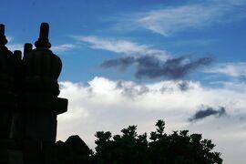 2013春、インドネシア旅行記2(27)ジャワ島、ブランバナン寺院
